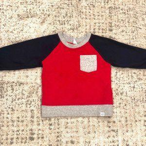 Baby Gap Quilted Sweatshirt